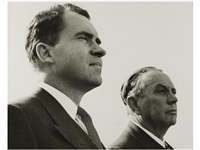 richard nixon con juan inclan by constantino arias