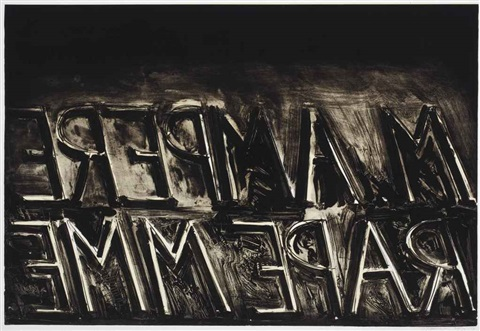 m ampere by bruce nauman