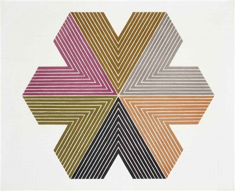 star of persia i by frank stella