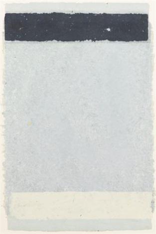 horizontal stripes i from horizontal stripes series by kenneth noland