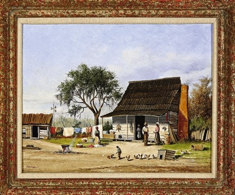 wash day at the cabin by william aiken walker