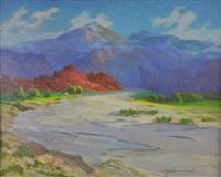 red mountains, arizona by arthur j. hammond
