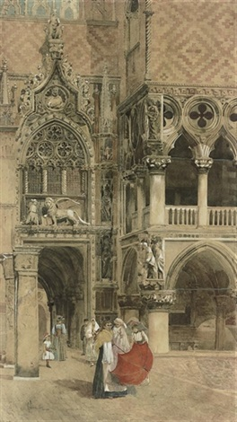 giuseppe-vizzotto-alberti-travelers-on-the-grand-tour-st-marks-square-venice
