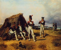 camp de boulogne by adolphe gandon