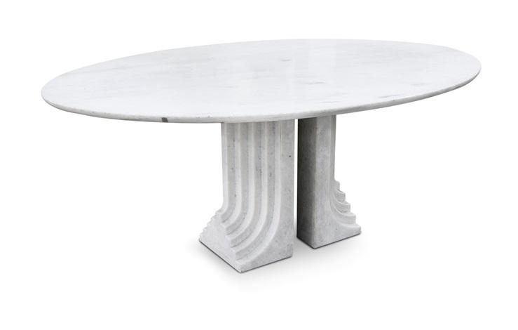 Samo tavolo ovale by carlo scarpa on artnet - Tavolo carlo scarpa prezzo ...