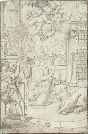 das martyrium der heiligen daria by santo piatti