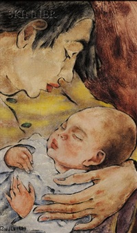 maternal bliss by george biddle
