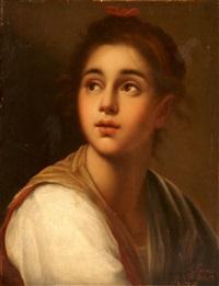 retrato de joven by achille leonardi