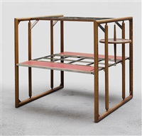 multifunctional large table by fritz waclawek