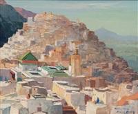 moulay ydriss, ville sainte du maroc by pierre bach