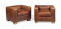 'max' armchairs (pair) by david linley