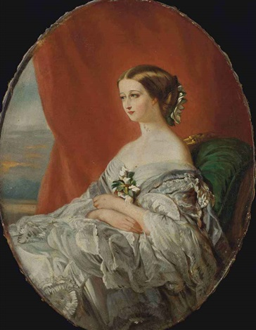 portrait de limpératrice eugénie by franz xaver winterhalter