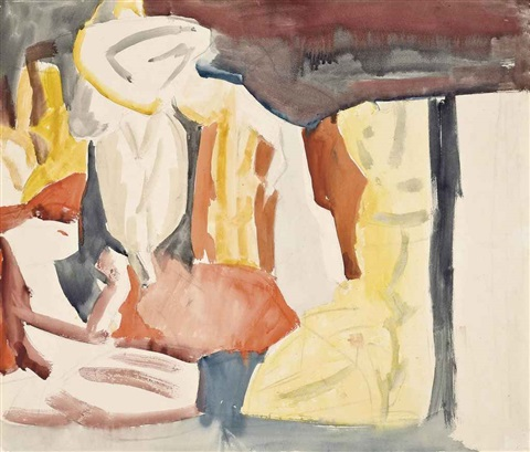 the tent family by david bomberg
