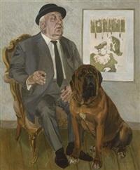 professor hartmann mit hund by babs englaender