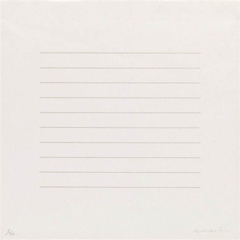 on a clear day from on a clear day suite by agnes martin