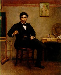 self-portrait by emile jules pichot