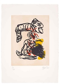 untitled (set of 5) by karel appel