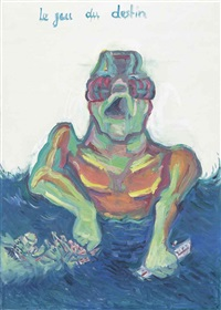 le jeu du destin (the game of destiny) by maria lassnig