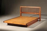 full size platform bed by george nakashima