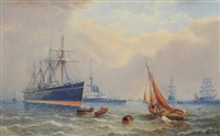 shipping off a coast by george smith