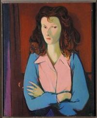 ritratto femminile by heinrich steiner
