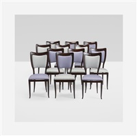 dining chairs (set of 12) by paolo buffa