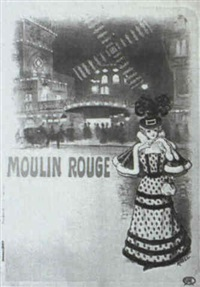 moulin rouge by auguste roedel