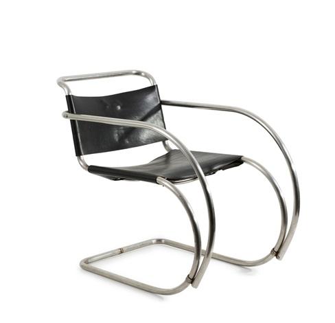 Weissenhof   Mr 20 Armchair By Ludwig Mies Van Der Rohe