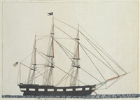 ship aquelnet of bristol, r.i. by captain thomas b. rennell