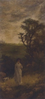 the path through the fields by herbert sidney percy