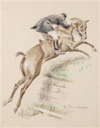 le saut du mur by henri vincent anglade