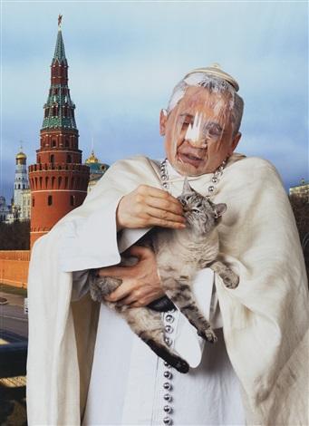 the pope and patriarch 2 works by vladislav mamyshev monroe