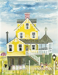 victorian seaside cottage by maxwell mays