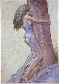 dessin érotique by milo manara