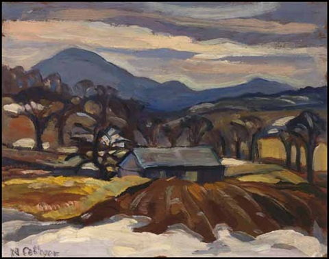 orford mountain magog pq by nora frances elisabeth collyer