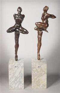 nus surréalistes (pair) by emmanuel arredono