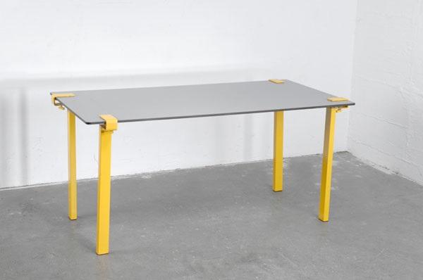 Tischplatte  Tischbeine und Tischplatte set of 5 by Friso Kramer and François ...