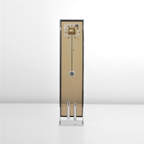 modernist grandfather clock by george nelson associates