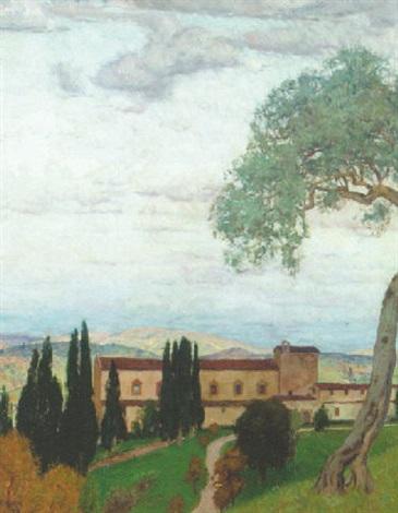 italiensk landskab by franz xaver hoch