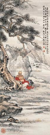 无量寿佛 buddha by qian xiong