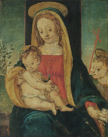 the madonna and child with the infant saint john the baptist by raffaelino del garbo
