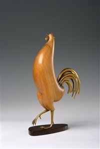 a rooster by franz hagenauer