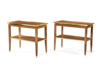 console tables (pair) by haentges