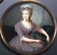 maria carolina, queen of naples by nicolas-françois dun