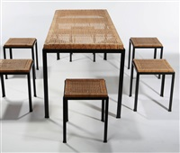 osetsu dei dining table (+ 6 chairs; set of 7) by danny ho and muey fong