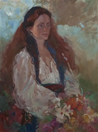 portrait of a lady by betty billups
