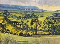 hidden valley in springtime by alan cotton
