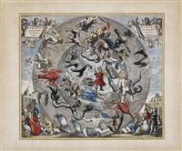 hemisphae alis coeli sphaeri grarii bore et terre casceno phia by hendrik hondius the younger