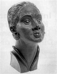 portrait einer dame mit art-deco-schmuck by willi münch-khe