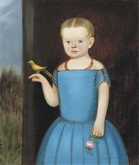 portrait of a girl by william w. kennedy